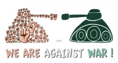 contra a guerra