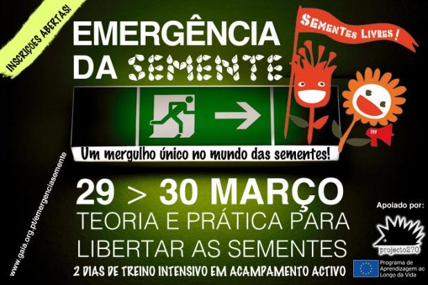 EMERGENCIA DA SEMENTE webposter logos