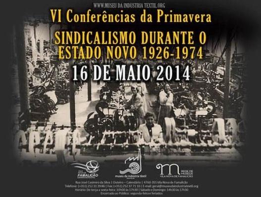 Sindicalismo Estado Novo_maio2014