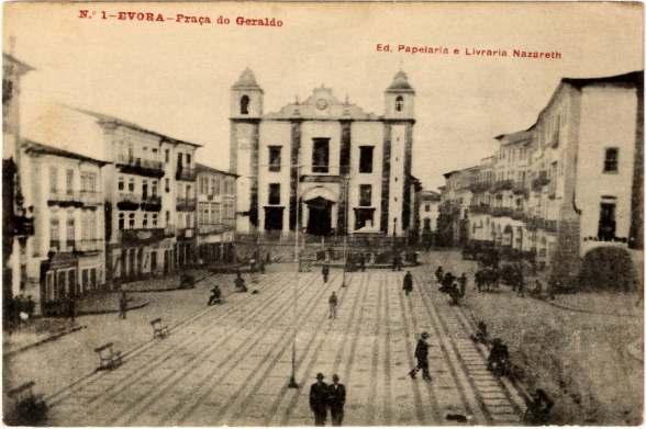 Praça do Giraldo cerca de 1923