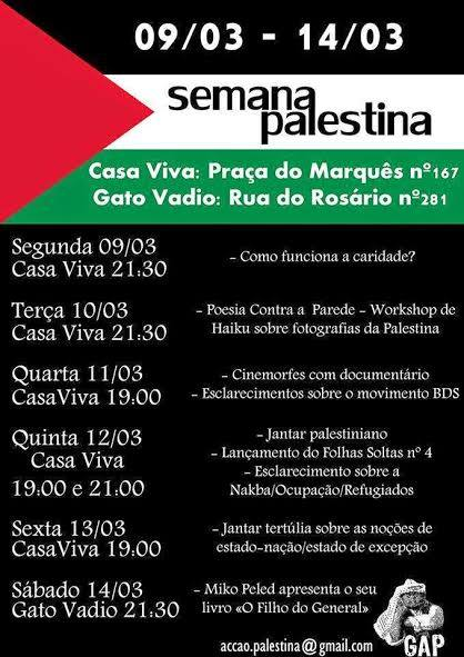 semana da palestina