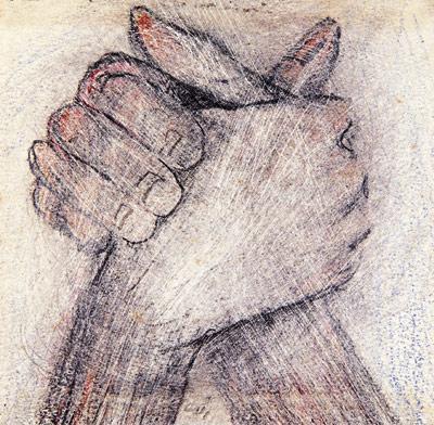 mãos anarquistas